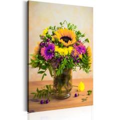 Artgeist Wandbild - Flowery Charm