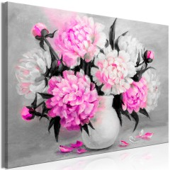 Artgeist Wandbild - Fragrant Colours (1 Part) Wide Pink