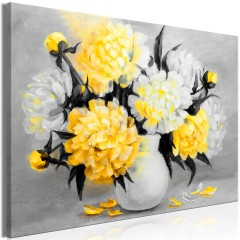 Artgeist Wandbild - Fragrant Colours (1 Part) Wide Yellow