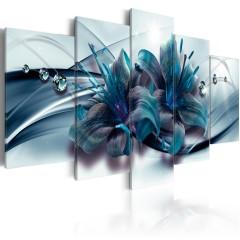 Artgeist Wandbild - Blue Lily