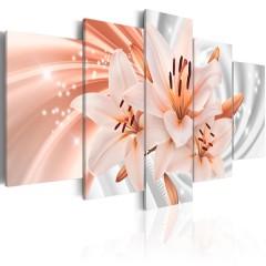 Artgeist Wandbild - Coral Lilies