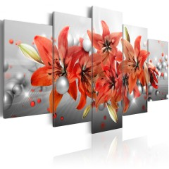Artgeist Wandbild - Flowery Battle