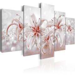 Artgeist Wandbild - Flowery Saga