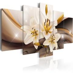 Artgeist Wandbild - Glänzende Lilie