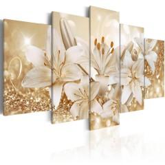 Artgeist Wandbild - Golden Bouquet
