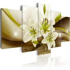 Artgeist Wandbild - Modern Liliy