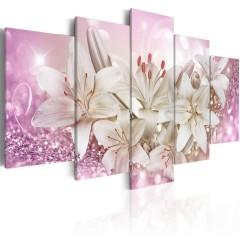 Artgeist Wandbild - Pink Courtship