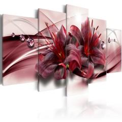 Artgeist Wandbild - Pink Lily