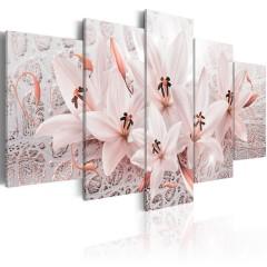Artgeist Wandbild - Pink Poem