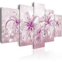 Artgeist Wandbild - Purple Harmony