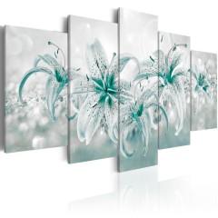 Artgeist Wandbild - Sapphire Lilies