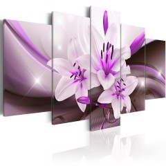 Artgeist Wandbild - Violet Desert Lily