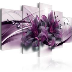 Artgeist Wandbild - Violet Lily