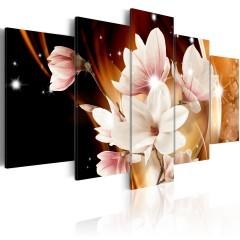 Artgeist Wandbild - Illumination (Magnolie)