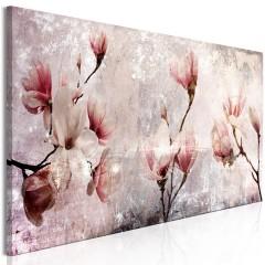 Artgeist Wandbild - Magnolia Charm (1 Part) Narrow
