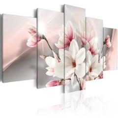 Artgeist Wandbild - Magnolia in bloom
