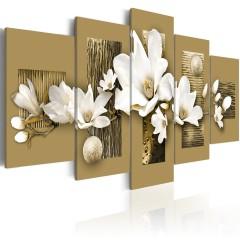 Artgeist Wandbild - Magnolia-Garden
