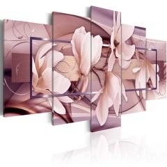 Artgeist Wandbild - Moody Flowers