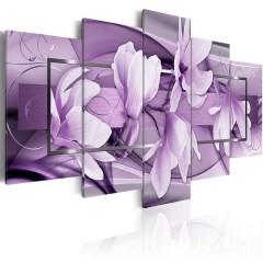 Artgeist Wandbild - Purple Wave
