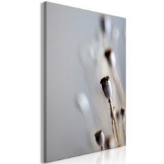 Artgeist Wandbild - Dried Poppies (1 Part) Vertical