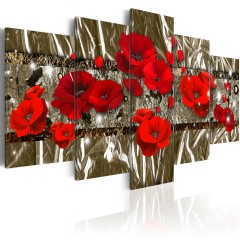 Artgeist Wandbild - Golden Poppies