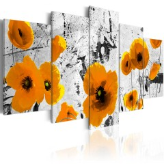 Artgeist Wandbild - Poppies in the royal color