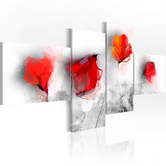 Artgeist Wandbild - Sentimentale Mohnblumen