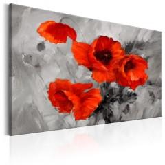 Artgeist Wandbild - Steel Poppies