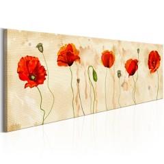 Artgeist Wandbild - Tears of Poppies