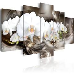 Artgeist Wandbild - Brown Mirage