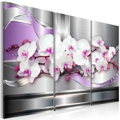 Artgeist Wandbild - Das Lied der Orchideen