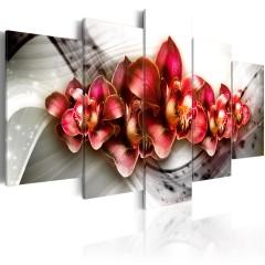 Artgeist Wandbild - Empire of the Orchid