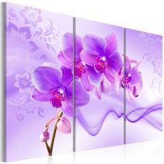 Artgeist Wandbild - Ethereal orchid - violet