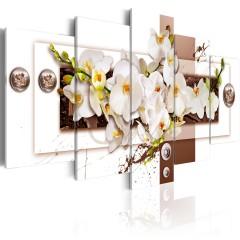 Artgeist Wandbild - Flowery Installation