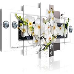 Artgeist Wandbild - Mechanical Orchid