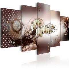 Artgeist Wandbild - Moderne Eleganz (Sepia)