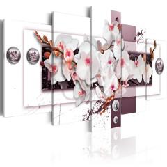 Artgeist Wandbild - Orchid's Mechanism