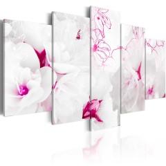 Artgeist Wandbild - Pink gossamer