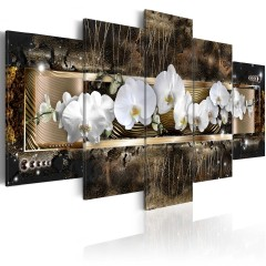 Artgeist Wandbild - The dream of a orchids