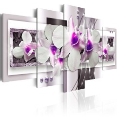 Artgeist Wandbild - With violet accent