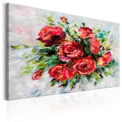 Artgeist Wandbild - Flowers of Love