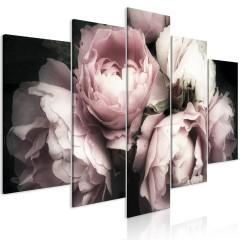 Artgeist Wandbild - Smell of Rose (1 Part) Wide