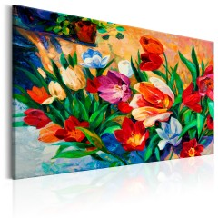 Artgeist Wandbild - Art of Colours: Tulips