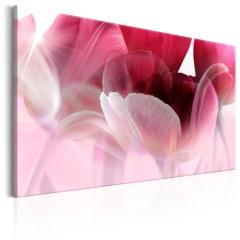 Artgeist Wandbild - Nature: Pink Tulips