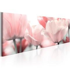 Artgeist Wandbild - Pink Tulips