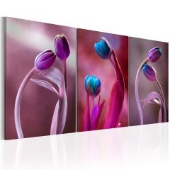 Artgeist Wandbild - Tulips in Love