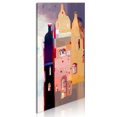 Artgeist Wandbild - Märchenhaftes Haus