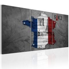 Artgeist Wandbild - All about France