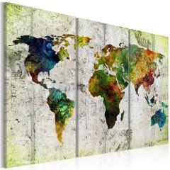 Artgeist Wandbild - Colourful Travels