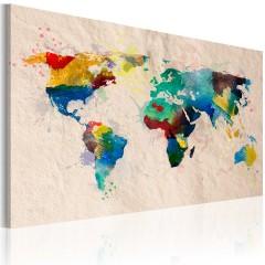 Artgeist Wandbild - Die Welt der Farben